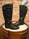 Bare Traps Tommy Black Buckle Detail Riding Boot NEW