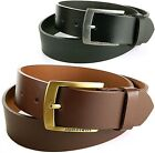 Alpine Swiss Mens Leather Belt Classic Dressy 35MM for Casual Jeans Dress Pants