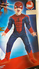 The Amazing Spider-Man Spiderman Muscle Child Costume 2T 3-4T NIP