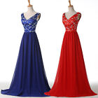Vintage Sexy Formal Long Cocktail Party Gowns Bridesmaid Evening Prom Ball Dress
