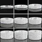 New Silver color Fashion Wristband Crystal Rhinestone Stretch Bracelet Bangle