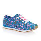 Rocket Dog Andrea  Womens  Trainers Shoes - Blue Happy Flower