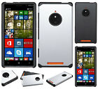 For AT&T Nokia Lumia 830 HARD Astronoot Hybrid Rubber Silicone Case Phone Cover