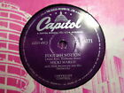 MICKI MARLO - Foolish Notion / Prize Of Gold 78 rpm disc (A++)