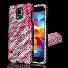 For Apple iPhone SERIES Hard FULL DIAMOND Case Cover Colors
