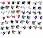 cufflinks square wedding grooms gift set NFL PICK YOUR TEAM