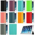 Super Slim Rugged Case With Slip Resistant Back Cover For Apple iPad Wake/Sleep