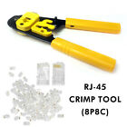 RJ45 Crimp Tool - 8P8C Crimper Crimping CAT5 CAT6 Ethernet Network Cable