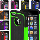 Shock Proof Builders Defender Rugged Case Cover For Apple iPhone 8 7 6s 5s SE X