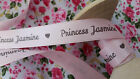 1m Personalised Princess ribbon~Ideal for Birthdays personalise with your name!
