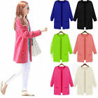 CHIC Women Ladies Female Long Sweater Jacket Cardigan Coat Outerwear Knit Autumn