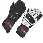 Richa Savage WP Motorcycle Leather Gloves Waterproof Armoured CE Protection Bike