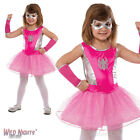 GIRLS PINK SPIDER-GIRL MARVEL SUPERHERO FANCY DRESS COSTUME