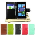 Leather Wallet Pouch Flip Case Cover чехол For NOKIA Lumia 520 Classic Mens TR