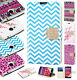 For MetroPCS LG Optimus F60 Premium Leather Wallet Pouch Flip Cover Accessory