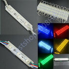 waterproof LED Module 5050 3 SMD LED 12V DC Advertising Decoration lights bright
