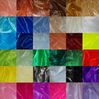 SHEER ORGANZA FABRIC Voile per 1m METRE Curtain & Wedding Material 150cm Wide