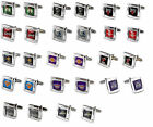 cufflinks square wedding grooms gift set NBA PICK YOUR TEAM