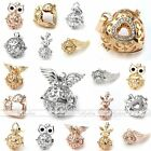 Happy Owl Angel Wings Cage Harmony Ball Pendant Chime Bola Bead For Necklace DIY