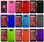 For Verizon Motorola Droid Maxx XT1080M Rubberized HARD Case Cover +Screen Guard