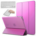 For Apple iPad Air 2 Stand Leather Case Cover Smart With Bluetooth Keyboard