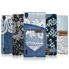HEAD CASE DESIGNS JEANS AND LACES CASE FOR HUAWEI ASCEND P7 DUAL SIM LTE