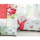Vintage Style Canterbury Duvet Cover Set with Floral Roses & Polka Dot Print