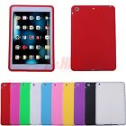 For iPad Mini 1 2 3 Retina Case Soft Gel Rubber Silicone Back Skin Cover Shell