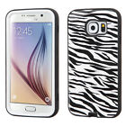 For Samsung Galaxy S6 IMPACT Verge HYBRID Case Skin Phone Cover + Screen Guard