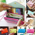 Women's Crown Purse Wallet Clutch Smart Case Hand Bag for iPhone Galaxy S2/3