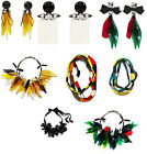 Marni for H&M Earrings Black Red Green New in Box with Tags BNWT Glamour