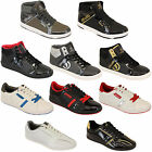 Mens Trainers ECKO Sneakers Shoes Hi Top Lace Up Designer Retro Boots Casual New