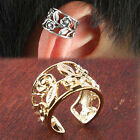1Pc New Chic Women Gold/Silver Punk Ear Cuff Wrap Clip Cartilage Earrings Gift