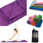 Sport Fitness Travel Exercise Yoga Mat Cover Towel Blanket Non-Slip Pilates Mat