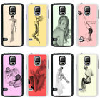 Vintage Retro Pin up Girls Case Cover for Samsung S3 S4 S5 Mini - 26