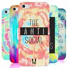 HEAD CASE TIE DYE CRY SILICONE GEL CASE FOR APPLE iPHONE 5S
