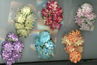 """Flower Hair Clip 4"""" x 2 1/2"""" x1"""" 6 color to choose from Brand New"""