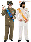 Adult Mens Military Dictator Villian Army Fancy Dress Costume Funny Bad Taste