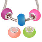 New Arrive Translucence Round Mixed Candy Color Acrylic European Beads 13mm Lots