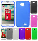 LG Ultimate 2 L41C TPU CANDY Gel Flexi Skin Case Phone Cover Frosted Accessory