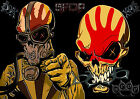 Five Finger Death Punch 20 Heavy Metal Rock Band Poster Print A3 A4