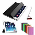 Ultra Slim Smart Shell Cover For iPad Air With Semi Transparent Hard Back Case