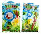 Childrens Kids Insect Bug Viewer Set Magnifying Glass Tweezers Flask Garden Toy