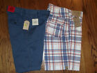 Roundtree & Yorke OR Trevero NWT 32 Casual Relaxed Fit Shorts Men Blue Coral