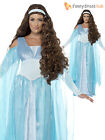 Size 8-22 Ladies Deluxe Medieval Princess Costume Womens Tudor Fancy Dress