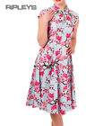 BANNED Oriental 50s Dress Last Dance PINK Cherry Blossom All Sizes