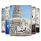 HEAD CASE DOODLE VIAGGI COVER MORBIDA IN GEL PER APPLE iPAD AIR 2