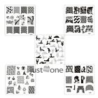 10 XJ Series Design Nail Art Image Stamp Steel Stamping Plates Manicure Template