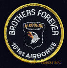101ST AIRBORNE DIVISION HAT PATCH BROTHERS FOREVER PIN UP SCREAMING EAGLES GIFT