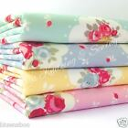 per 1/2 metre/FQ  floral clouds dressmaking/craft fabric 100% COTTON 4 colours